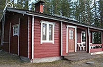 Vuokramökki 2 h + tupakeittiö + sauna