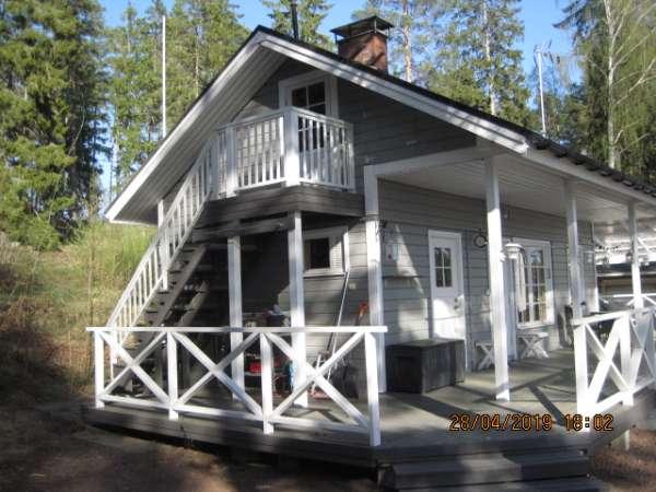 Kesämökki 6 h + keittiö + sauna