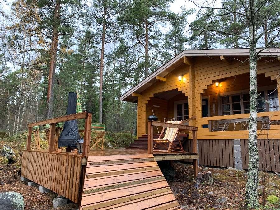 Vuokramökki 3 h + tupakeittiö + sauna, Raasepori