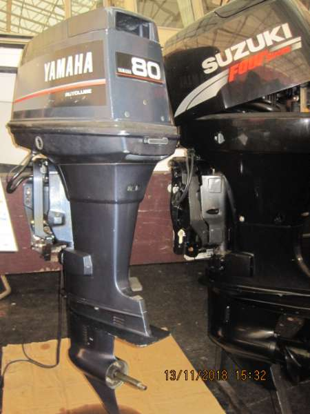 Venemoottori Yamaha 80AETOL Autolube